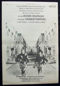 Chapman/Whitney Streetwalkers Ad