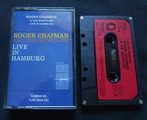 Roger Chapman - Live in Hamburg cassette tape