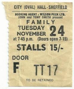 November 24, 1970 ticket