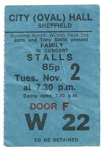 November 2, 1971 ticket